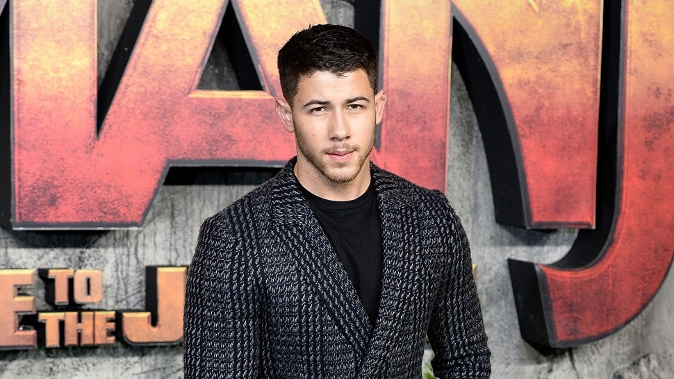 Nick Jonas London Jumaji premiere