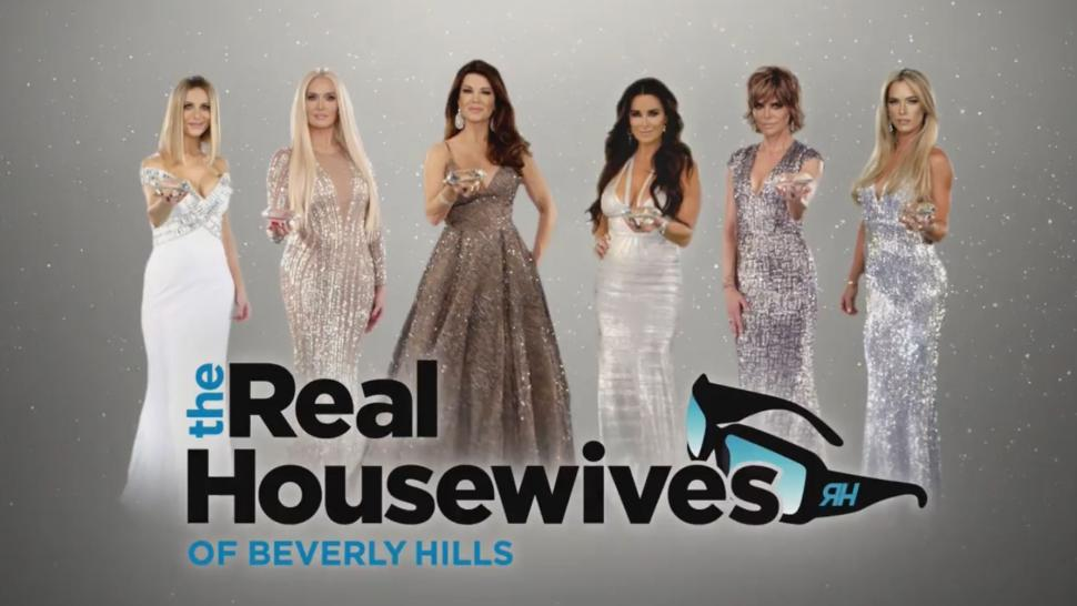 The cast of 'The Real Housewives of Beverly Hills' season eight.