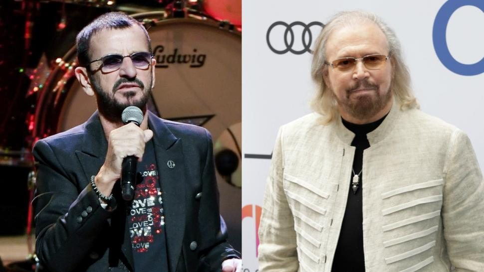 Ringo Starr and Barry Gibbs Knighted