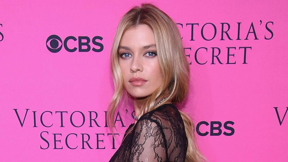 Stella Maxwell at Victoria's Secret screening party