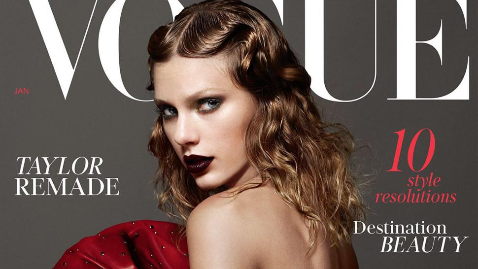 Taylor Swift in British Vogue