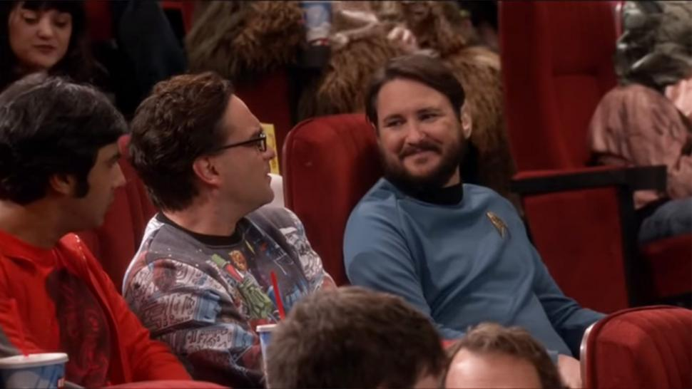 Wil Wheaton attends 'Star Wars' premiere
