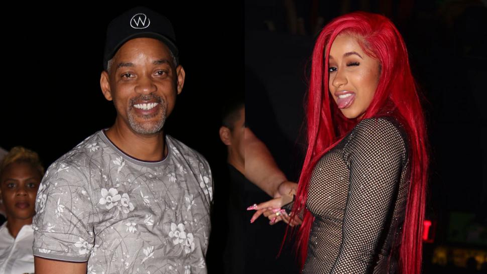 Will Smith, Cardi B at Art Basel
