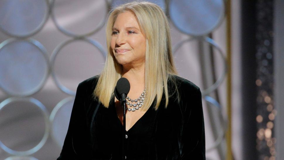 barbra streisand golden globes 2018