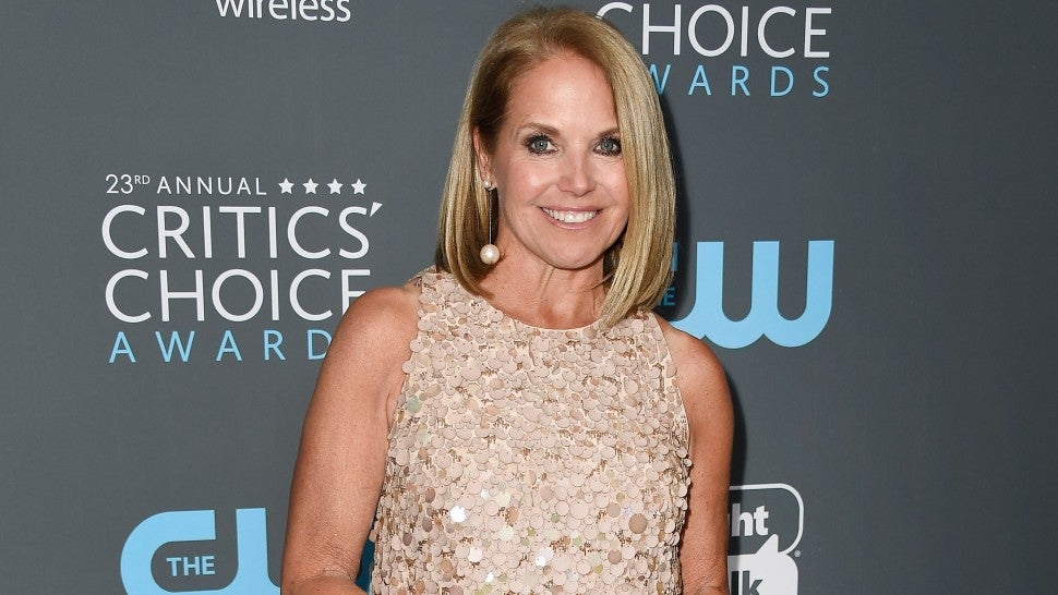 Katie Couric Is 'Really Sorry' for That Matt Lauer 'A** Pinching' Joke