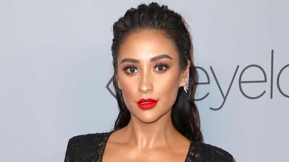 Shay Mitchell at InStyle afterparty
