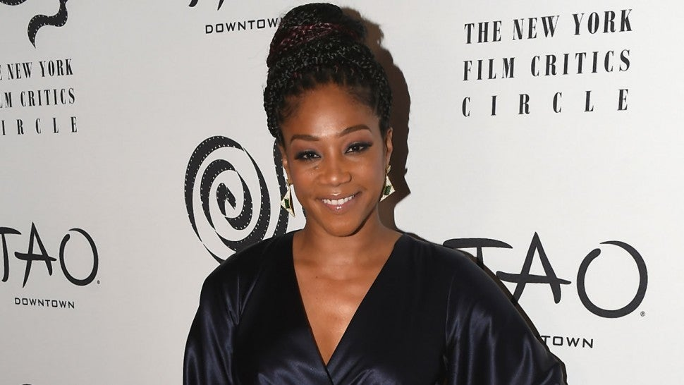 Tiffany Haddish at 2017 New York Film Critics Awards