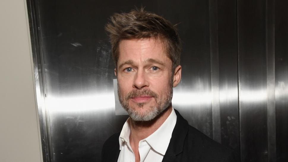 Brad Pitt attends charity auction