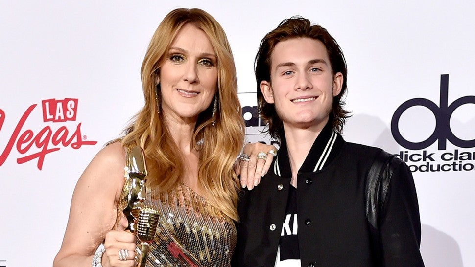 Celine Dion and Rene-Charles