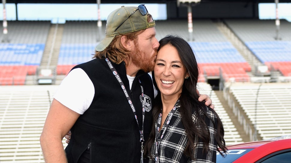Chip and Joanna Gaines at NASCAR event