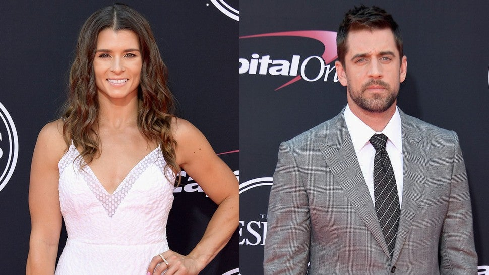 Actress dating aaron rodgers
