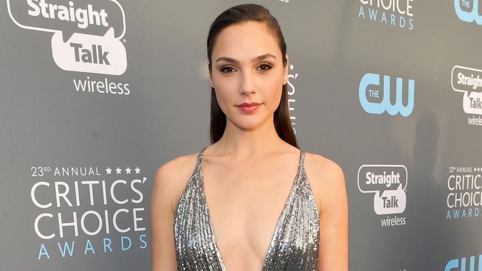 Gal Gadot at Critics Choice Awards