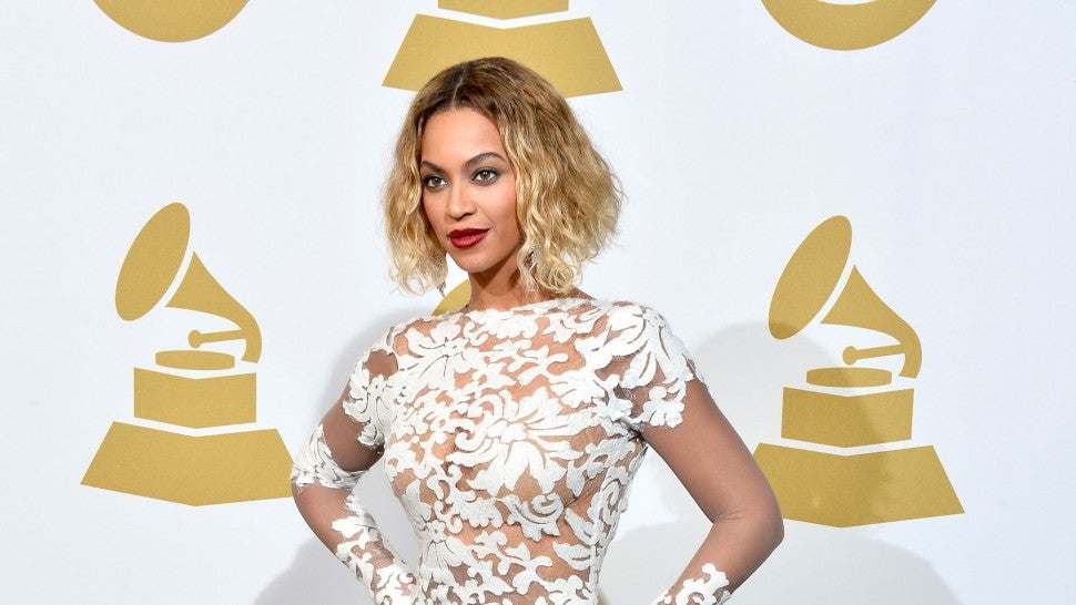 Beyonce at 2014 GRAMMys