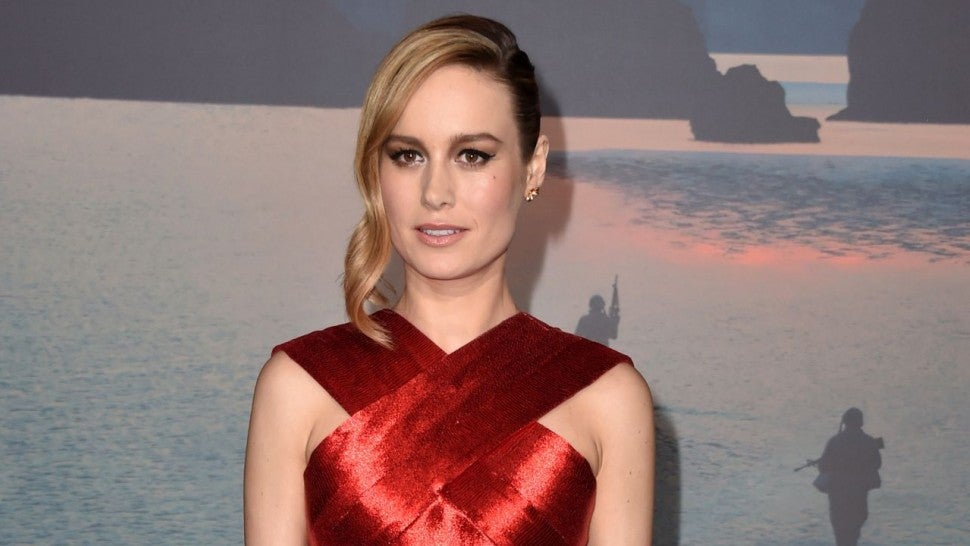 First Look At Brie Larson In Her Captain Marvel Outfit