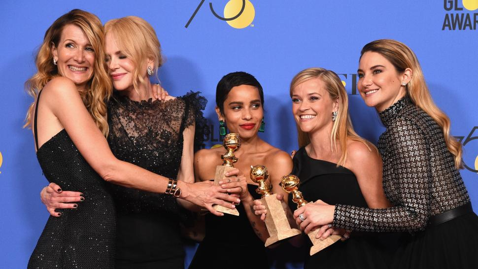 Big Little Lies, Golden Globes, Reese Witherspoon, Nicole Kidman