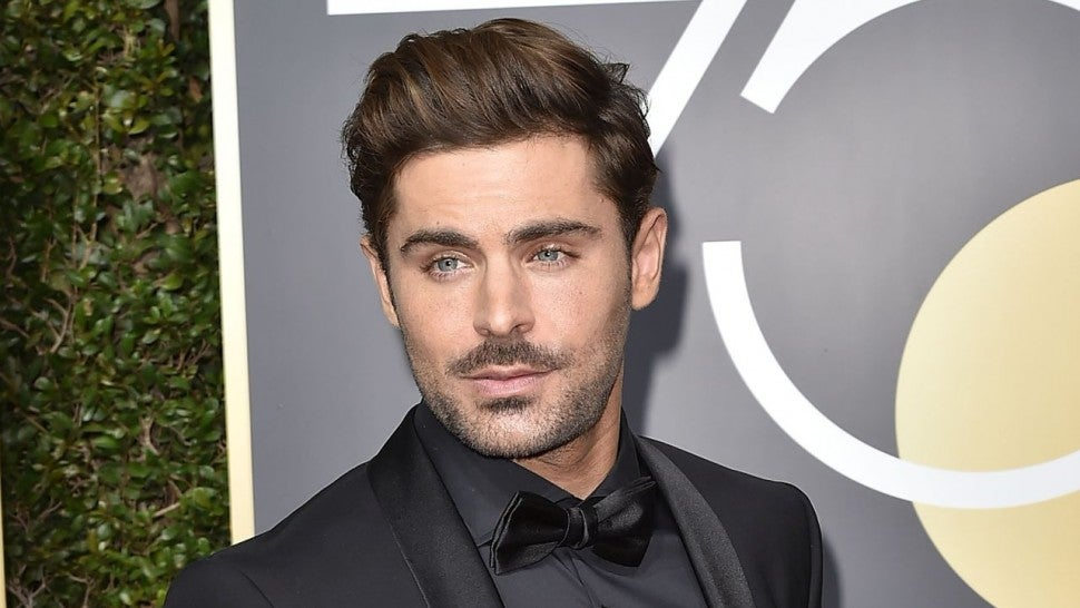 Zac Efron Debuts Platinum Blonde Hair And Fans Have Only Strong