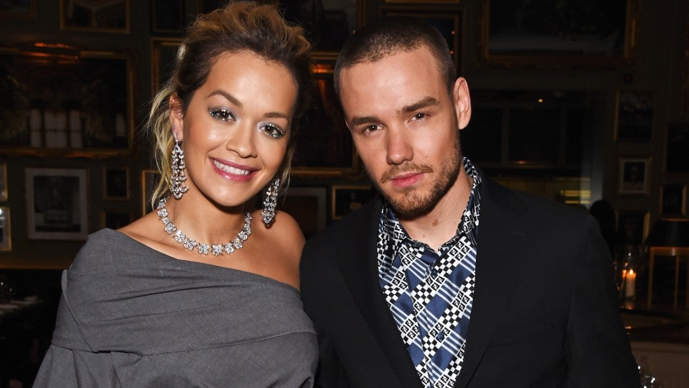 Rita Ora and Liam Payne at GQ London Fashion Week closing dinner