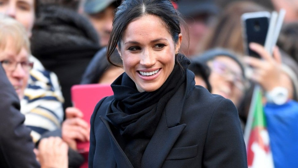 Meghan Markle Wears Feminist White To Celebrate International Women's Day In Birmingham