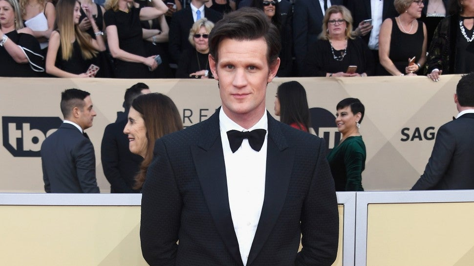 Matt Smith at 2018 SAG Awards