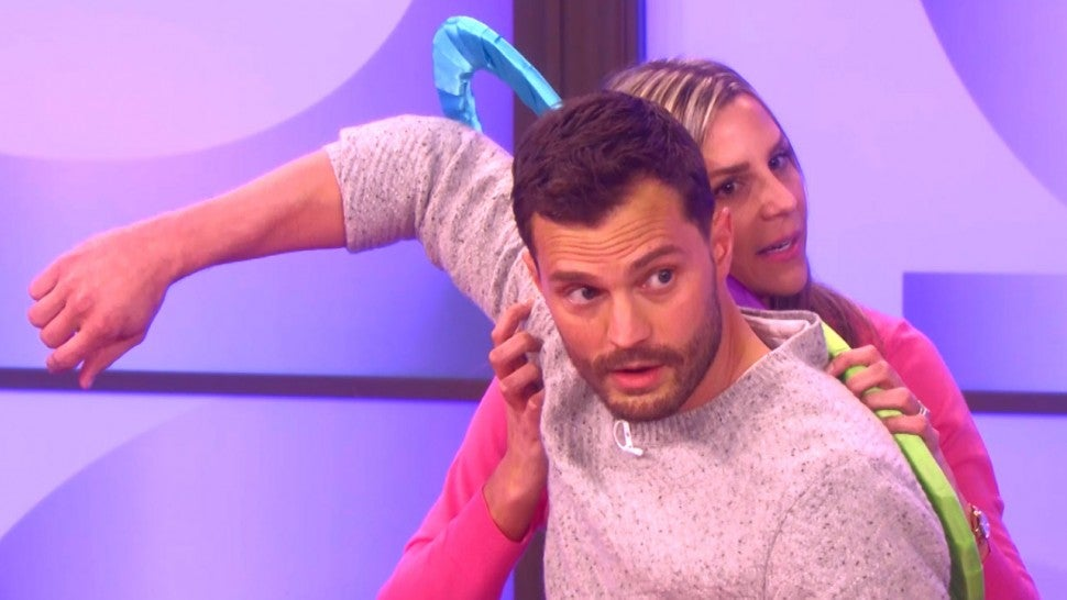 Jamie Dornan on The Ellen DeGeneres Show