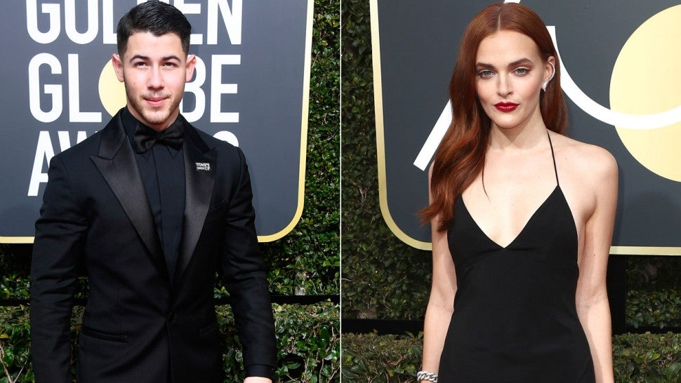 Nick Jonas and Madeline Brewer