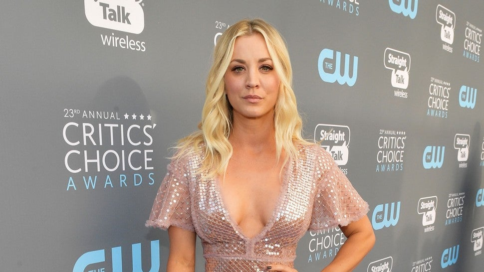 Kaley Cuoco at 2018 Critics' Choice Awards
