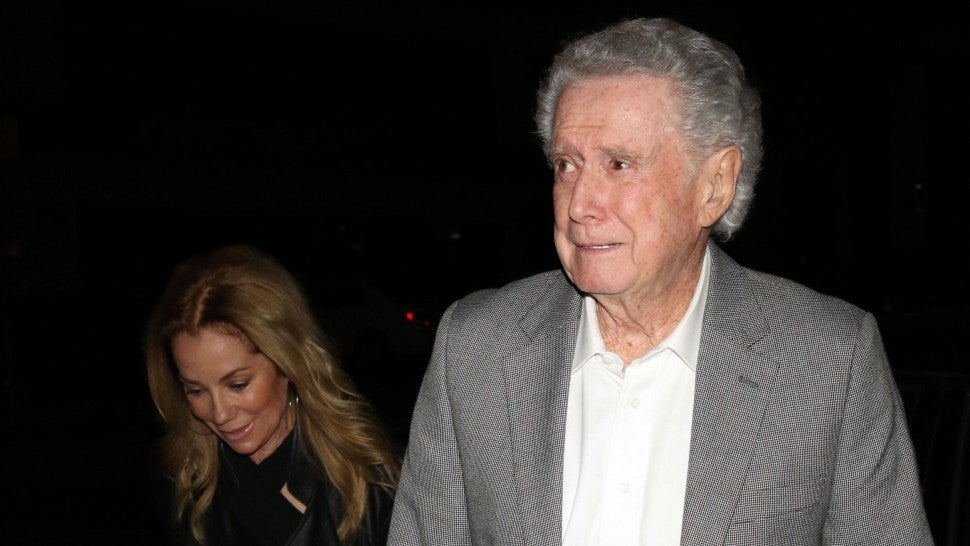 Kathie Lee Gifford and Regis Philbin out to dinner at Craig's