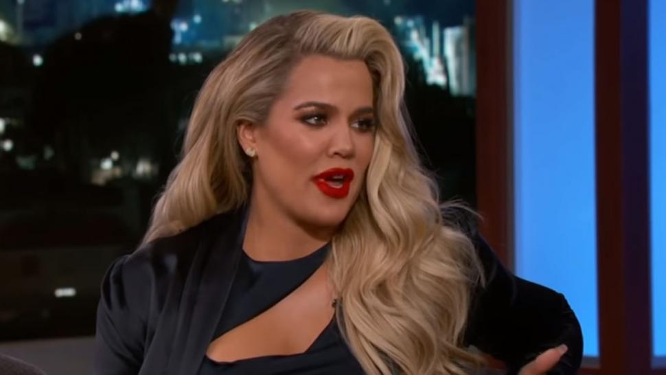 Khloe Kardashian on Jimmy Kimmel Live