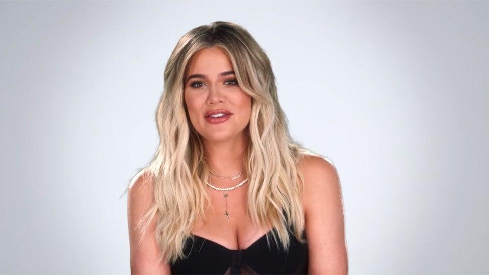 Khloe Kardashians Hair Is Getting Curlier Throughout Her Pregnancy