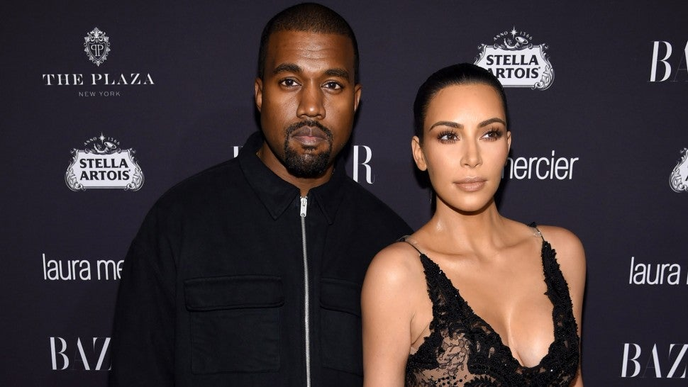 Kim Kardashian Kanye West Haprer's Bazaar ICONS Celebration