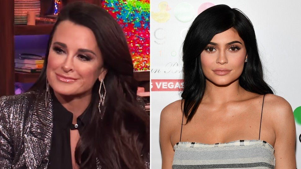 Kyle Richards and Kylie Jenner