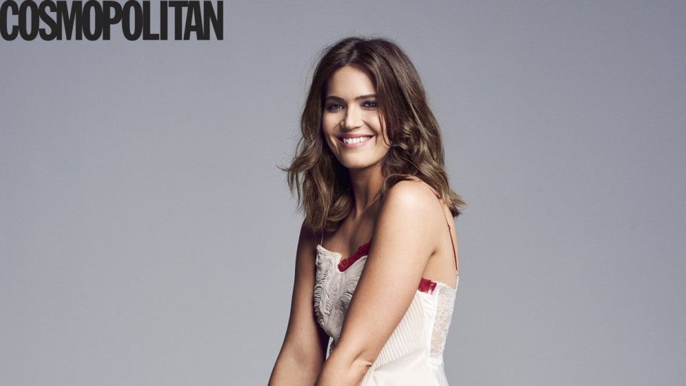 Mandy Moore in Cosmo