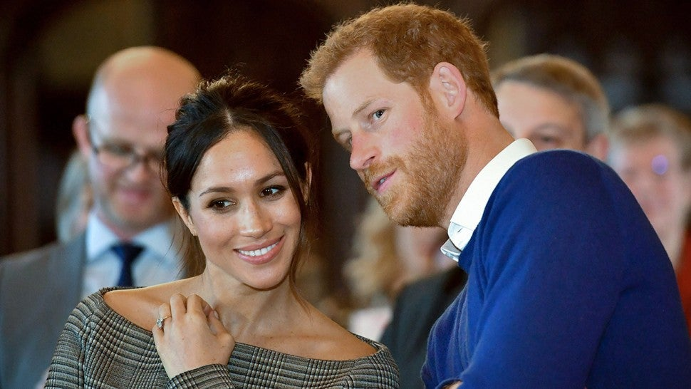 a056260e846f Prince Harry and Meghan Markle s Royal Wedding  All the Famous ...