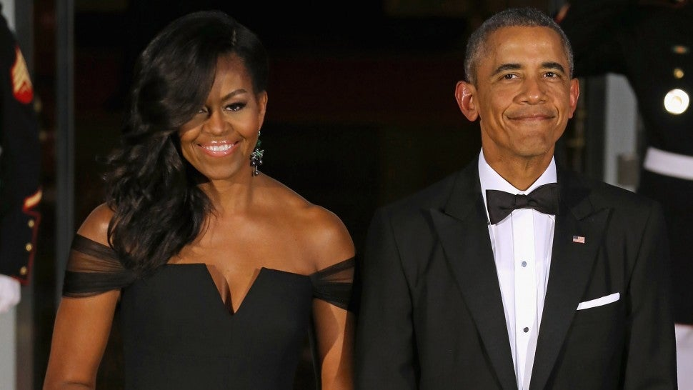 Barack Obama Sweetly Notes Wife Michelle's 'Hotness' While ...