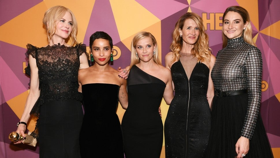 Big Little Lies cast at Golden Globes HBO party