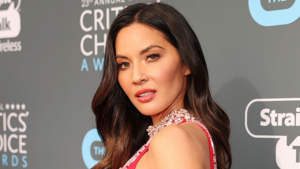 Olivia Munn at The Critics' Choice Awards 2018