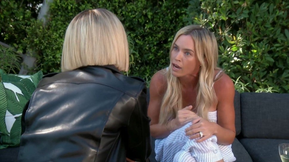 Teddi Mellencamp Arroyave confronts Dorit Kemsley on 'The Real Housewives of Beverly Hills.'