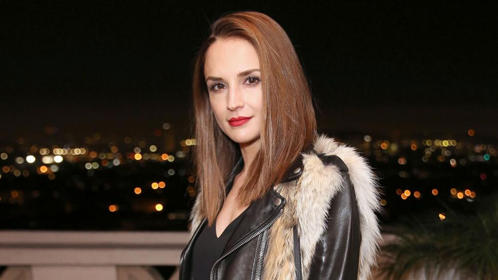 Rachael Leigh Cook at Olgana Paris cocktail party