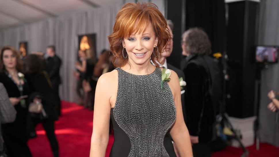 Reba McEntire at the 2018 GRAMMYs