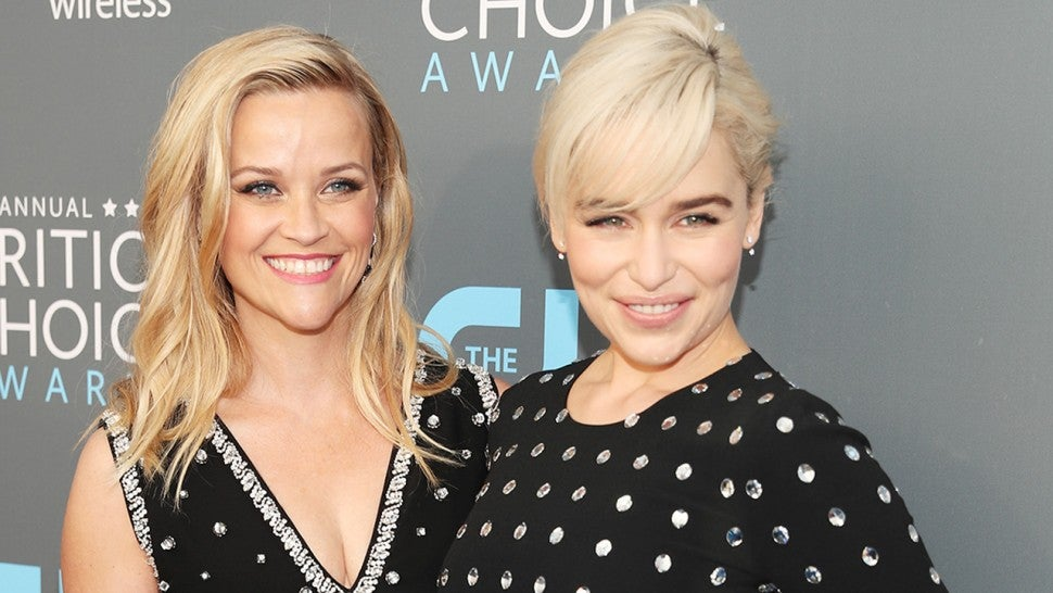 Reese Witherspoon and Emilia Clarke