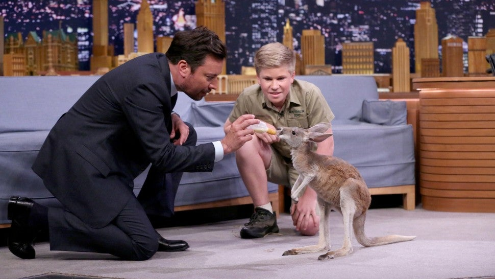 Robert Irwin at Jimmy Fallon
