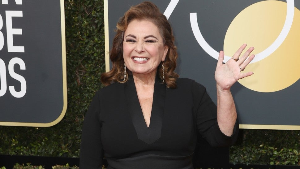 Roseanne Barr at 2018 Golden Globes