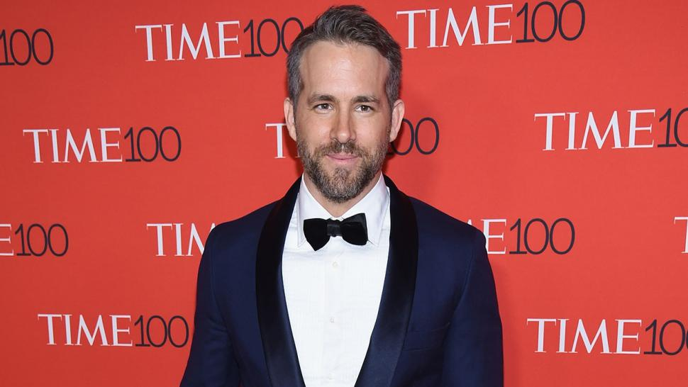 Ryan Reynolds at 2017 Time 100 Gala