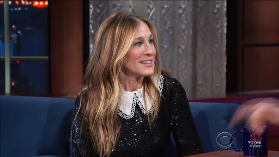 Sarah Jessica Parker on 'Late Show'