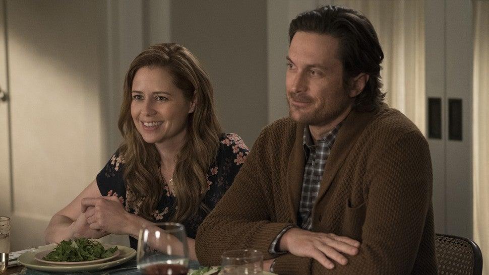 Splitting Up Together Jenna Fischer And Oliver Hudson
