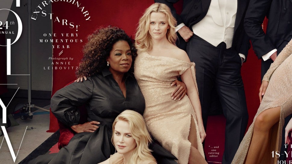 Oprah And Reese Witherspoon Laugh Off Vanity Fair's Photoshop Fail
