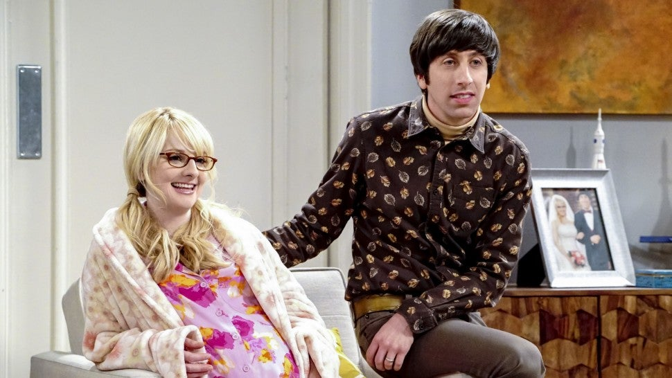 The Big Bang Theory Howard Bernadette