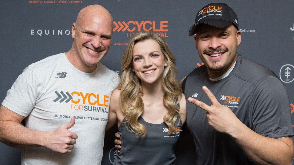 Chicago Fire stars at Cycle for Survival