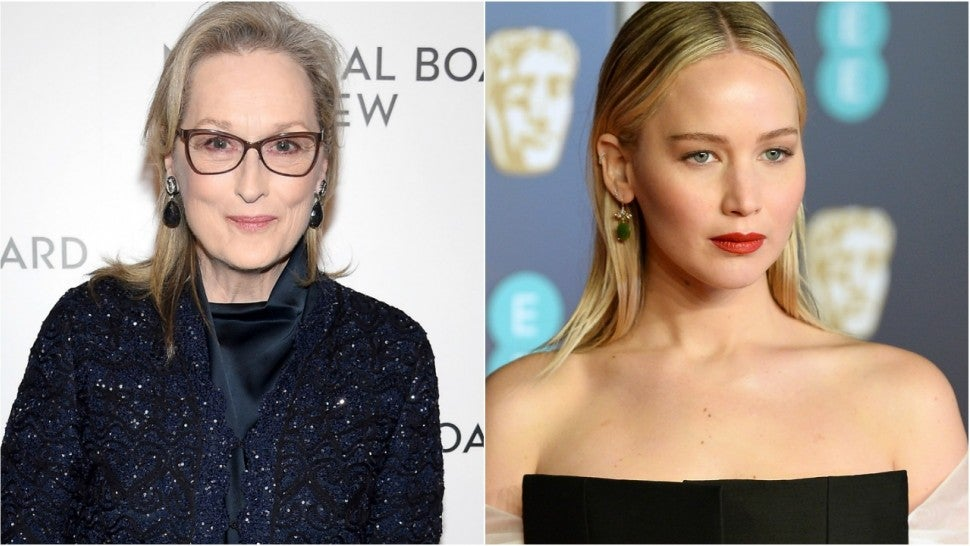 Meryl Streep Jennifer Lawrence