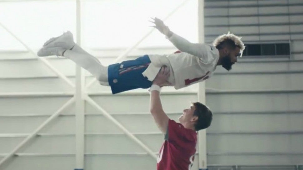 Eli Manning And Odell Beckham Jr Star In Hilarious Dirty